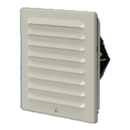 SLS-JK 換気扇付ステンレス製ルーバー(火災予防条例対応フィルタ付)