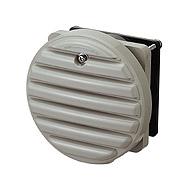 WLP-K 換気扇付丸形防水ルーバー・フィルタ付